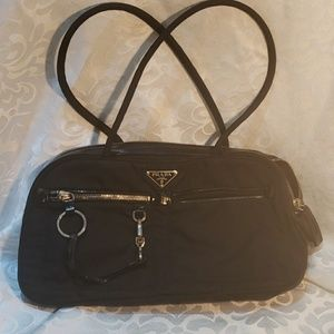 Prada authentic nylon bag.
